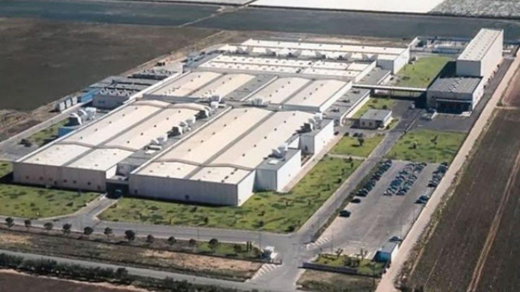vista dello stabilimento azienda ecologistic spa