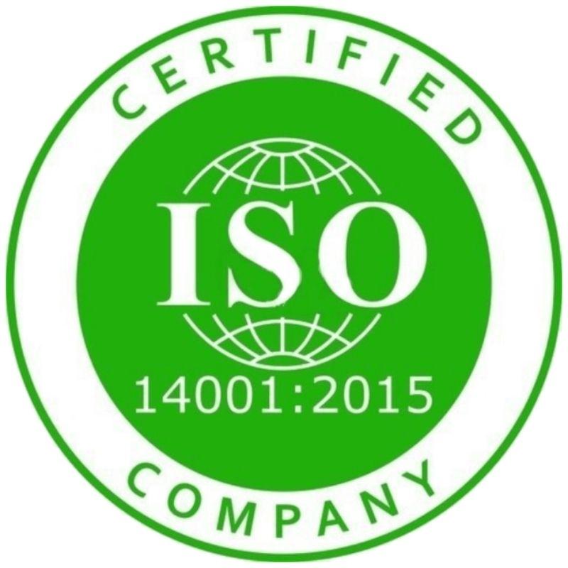 logo certificazione aziendale iso 14001:2015